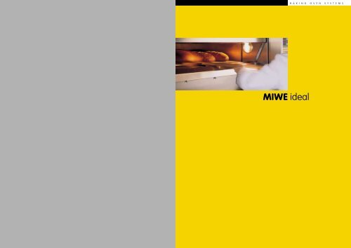 miwe roll in oven manual