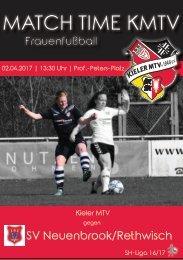 02.04.17 KMTV – SV Neuenbrook/Rethwisch