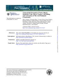 Tumoricidal Potential of Native Blood Dendritic Cells: Direct Tumor ...