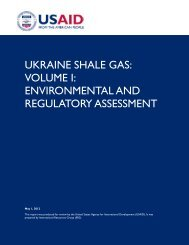 ukraine shale gas - Environmentally Friendly Drilling Systems