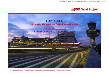 Berlin TXL - Abgeordnetenhaus von Berlin