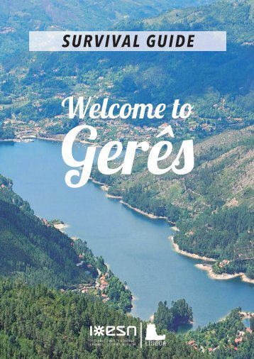 ESN Survival Guide - Trip to Gerês