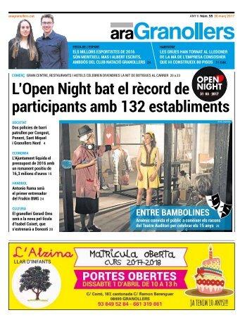 L'Open Night bat el rècord de participants amb 132 establiments