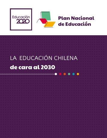 LA EDUCACIÓN CHILENA de cara al 2030