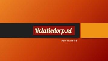 Relatiedorp - Mens en Relatie