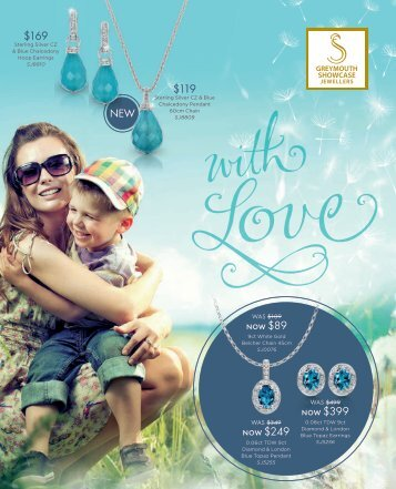 Showcase Jewellers Mother's Day Catalogue 2017