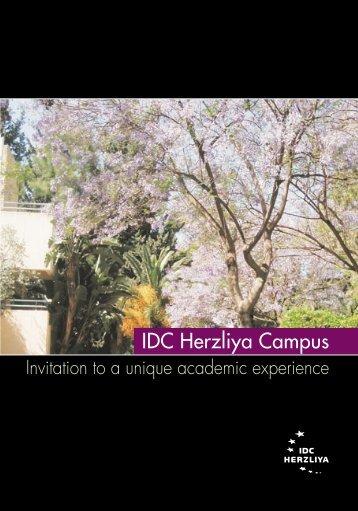 IDC Herzliya Campus