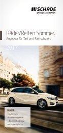 SCHADE Räder/Reifen Sommer Taxi und Fahrschulen