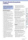 Sony HDR-AS100VB - HDR-AS100VB Guide pratique Polonais - Page 3