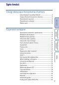 Sony HDR-AS100VB - HDR-AS100VB Guide pratique Polonais - Page 6