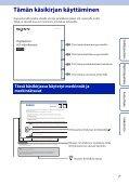 Sony HDR-AS100VB - HDR-AS100VB Guide pratique Finlandais - Page 2