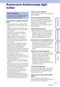 Sony HDR-AS100VB - HDR-AS100VB Guide pratique Turc - Page 3