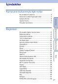 Sony HDR-AS100VB - HDR-AS100VB Guide pratique Turc - Page 5