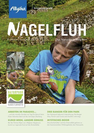 NAGELFLUH Frühjahr/Sommerausgabe 2017 - das Naturpark Magazin