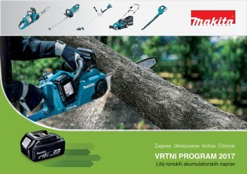 Makita - vrtni program 2017