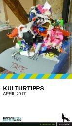 KulturTipps April 2017