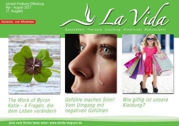 La Vida Magazin: Ausgabe Mai - August 2017