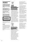 Sony DVP-FX780 - DVP-FX780 Istruzioni per l'uso Sloveno - Page 2