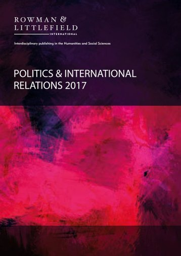 POLITICS & INTERNATIONAL RELATIONS 2017