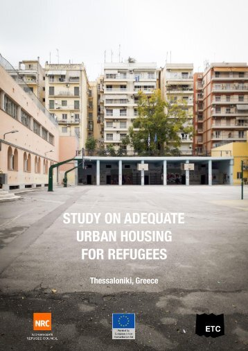 STUDY ON ADEQUATE URBAN HOUSING FOR REFUGEES