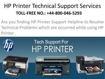 HP Printer Support Phone Number UK +448000465293