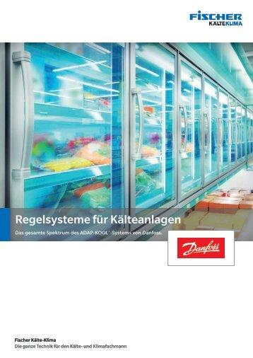 Regelsysteme für Kälteanlagen von Danfoss.