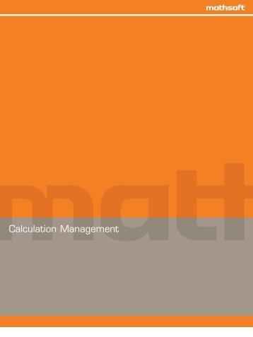 Calculation Management - ADDLINK Software Científico
