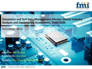 Simulation and Test Data Management Market to Reach US$ 480.6Mn by 2026