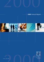 2000 Annual Report - EVCA