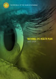 NATIONAL EYE HEALTH PLAN