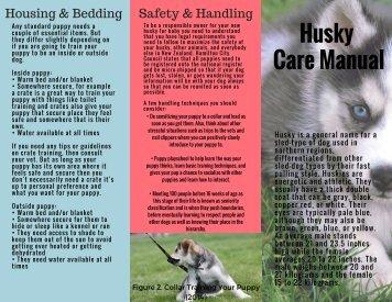 Husky Care Manual Brochure Final 2
