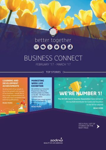 Business Connect February - March 2017 by Sodexo