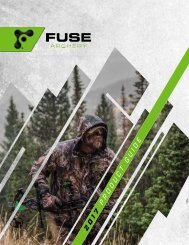 2017 Fuse Archery Product Guide