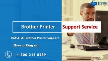 Brother Printer Support