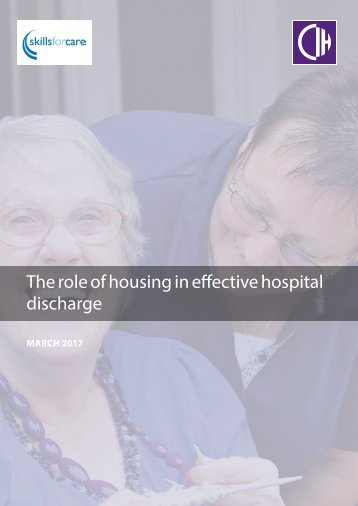 The role of housing in effective hospital discharge