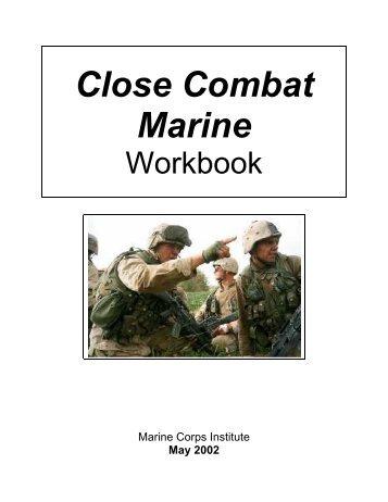Close Combat Marine Workbook