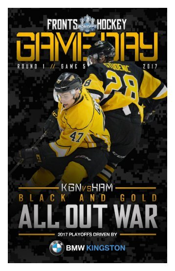 Kingston Frontenacs GameDay March 31, 2017