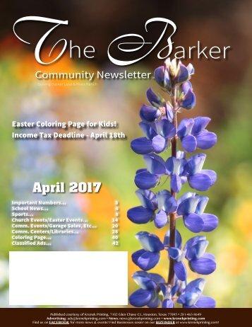 Barker April 2017