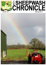 Sheepwash Chronicle Spring 2017