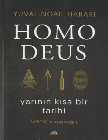 Yuval Noah Harari - Homo Deus Yarının Kısa Bir Tarihi (1)