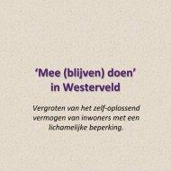 Verslag Meedoen in Westerveld digitaal