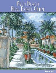 Palm Beach Real Estate Guide April 2017