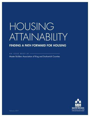 HOUSING ATTAINABILITY