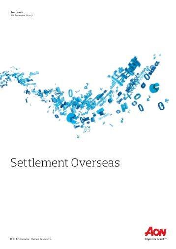 Settlement Overseas