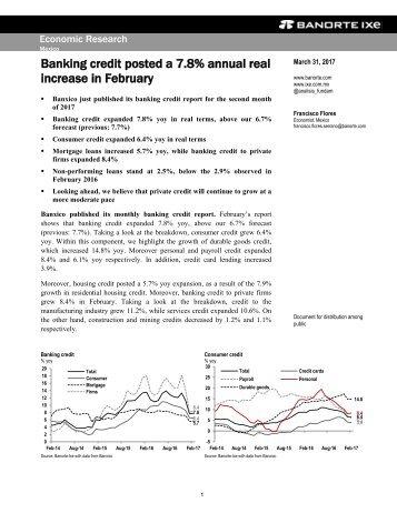 increase in February