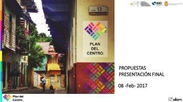 PROPUESTAS PRESENTACIÓN FINAL 08 -Feb- 2017