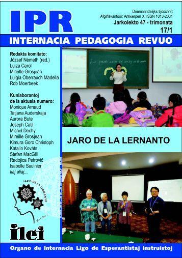 JARO DE LA LERNANTO