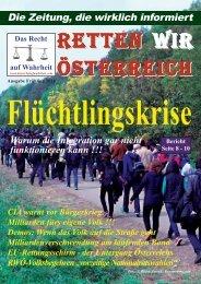 Zeitung - Das Recht auf Wahrheit - Fruehjahr 2016 - Homepage