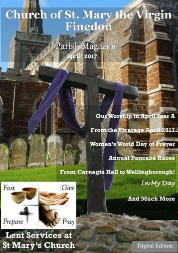 St. Mary's April 2017 Parish Magazine