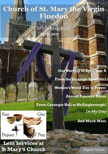St. Mary's April 2017 Parish Magazine